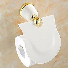 White Gold-Messing Handtuchhalter Handtuchwärmer