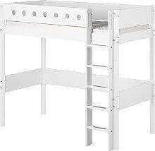 White - Hochbett - 200 cm - Weiß