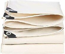White Tarpaulin Shade Cloth Tarp Verdicken Anti-UV