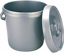 Whitefurze 14 Liter Windeleimer mit Deckel -
