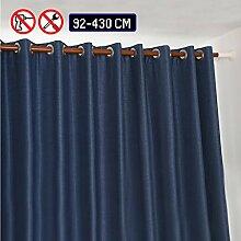 WHITNEY 92cm-430cm Lang Ausziehbar Gardinenstange