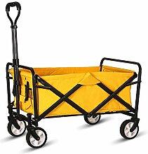 WHITSUNDAY Zusammenklappbarer Gartenwagen für den