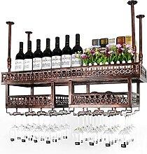 WHOJS Wein Ständer Hängender Becherhalter