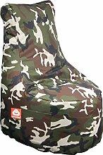 WHOOBER Sitzsack mit Lehne Nice Camouflage - 100 x