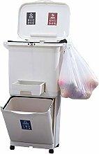 WHR-HARP Mülleimer, Abfalleimer, Groß und