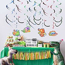 WHRP-decoration Girlande Deko Dinosaurier Party