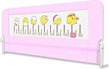 WHYDIANPU Kinderbett Leitplanke Zaun Bett Baby