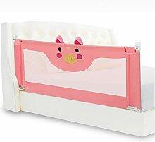 WHYDIANPU Krippe Leitplanke Baby Bett Zaun