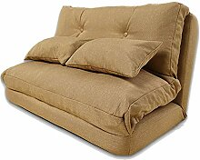 WiaLx Lazy Sofa Home Futon Bettrahmen Guest