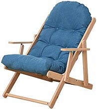 WiaLx Lazy Sofa Lounge Chair Verstellbare Veranda