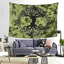 Wicca grüner Baum des Lebens Keltischer Yggdrasil