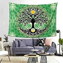 Wicca Keltischer Baum des Lebens Sonne und Mond