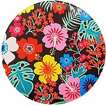 wicemoon Tragbare Runde Make-up Werkzeug Mini Kleine Floral Spiegel Cute Creative Frauen