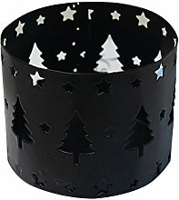 Wicemoon Weihnachten Kerzenhalter Eisenkunst Hohl