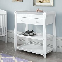 Wickeltisch BabyMore Farbe: Weiß