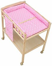 Wickeltisch Neugeborenes Baby Tabellen mit Rad und
