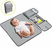 Wickelunterlage für Babys / Abwischbarer Matte