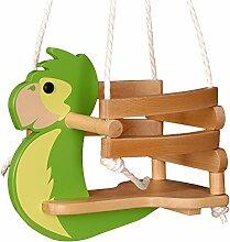 WICKEY Babyschaukel Papagei Babysitz