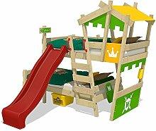 WICKEY Etagenbett CrAzY Castle Doppel-Kinderbett