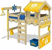 WICKEY Hochbett CrAzY Jelly Kinderbett mit Dach