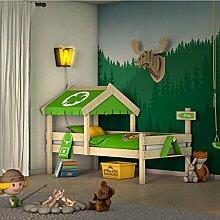 WICKEY Kinderbett CrAzY Buddy Einzelbett 90x200