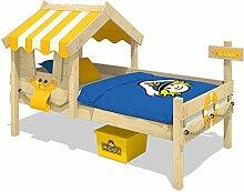 WICKEY Kinderbett CrAzY Sharky Einzelbett