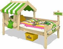 WICKEY Kinderbett CrAzY Sunny Holzbett Einzelbett