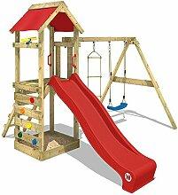 WICKEY Spielturm FreeFlyer Kletterturm mit Rutsche