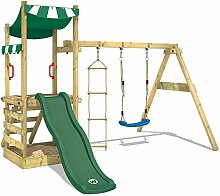 WICKEY Spielturm FunFlyer Spielhaus Kletterturm