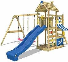 WICKEY Spielturm Garten Kletterturm mit
