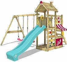 WICKEY Spielturm Klettergerüst CherryFlyer Garten