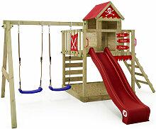 WICKEY Spielturm Klettergerüst Smart Cave mit