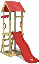 WICKEY Spielturm Klettergerüst TinySpot roter