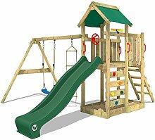 WICKEY Spielturm MultiFlyer Kletterturm Spielplatz