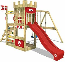 WICKEY Spielturm Ritterburg RoyalFlyer mit