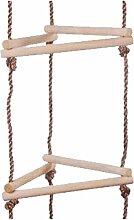 WICKEY Strickleiter 3 Seiten klein 5 Stufen Kletterleiter