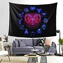 Widder Hippie Neon Horoskop Kreiszeichen