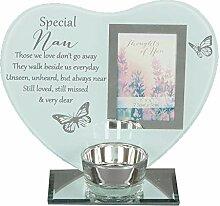 Widdle Gifts Ltd Glas-Bilderrahmen für Teelichter