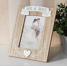 Widdop Bilderrahmen Mr & Mrs - Hochzeitsgeschenk
