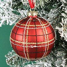 Widdop Christbaumkugel aus Glas, traditionelles