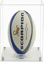 Widdowsons Vitrine vertikale Rugby-Ball-Vitrine,