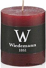 Wiedemann 8 Kerzen Marble Rustic 80/78mm (Bordeaux
