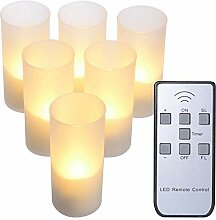 Wiederaufladbare Kerzen mit Fernbedienung, PChero