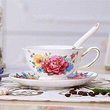 Wiederverwendbar Bone China Floral Teetasse