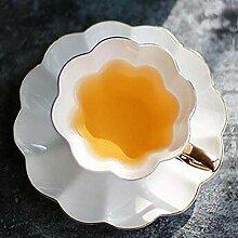 Wiederverwendbar Bone China Tasse Untertasse Blume