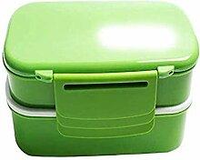 Wiederverwendbare Double Layer Lunch Box,