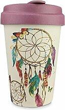 Wiederverwendbare Kaffeebecher, 384ml, aus