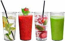 Wiederverwendbare Kunststoff Cup Drinkware Becher