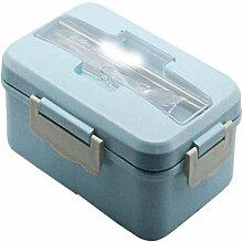 Wiederverwendbare Leakproof Lunch Box, Weizenstroh