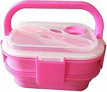Wiederverwendbare Leakproof Lunchbox, faltbar